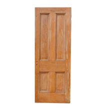 Load image into Gallery viewer, 4 Panel Wooden Door