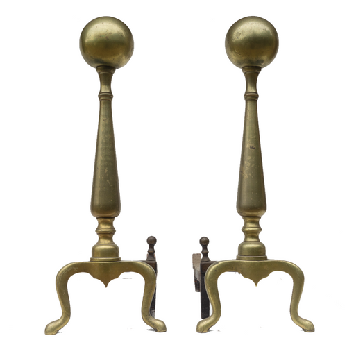 Andirons (Pair) - #A129