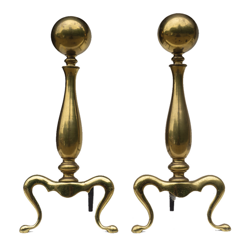 Andirons (Pair) - #A130