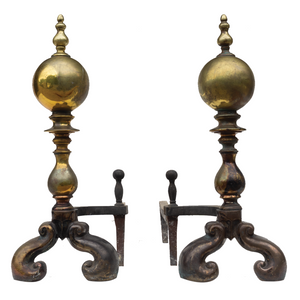 Andirons (Pair) - #A131
