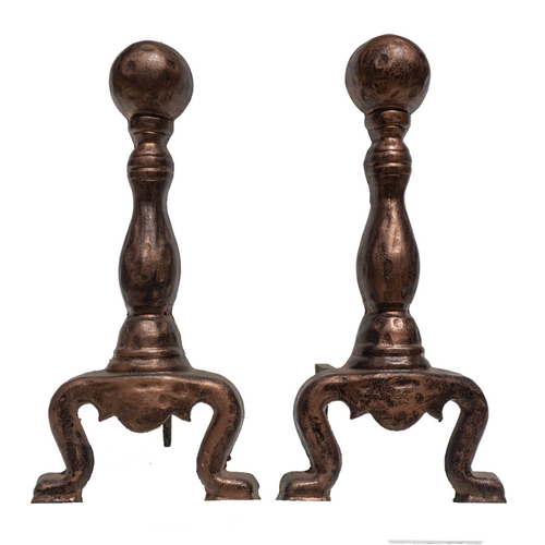 Andirons (Pair) - #A120