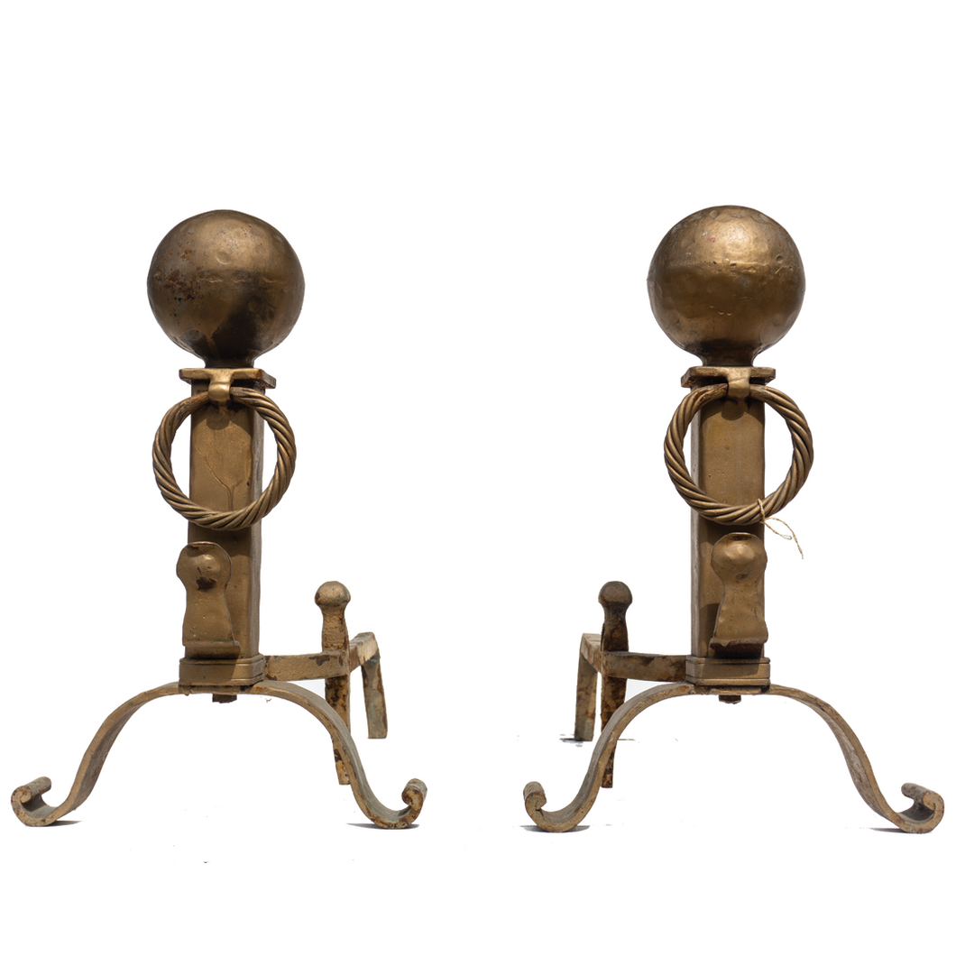 Andirons (Pair) - #A121