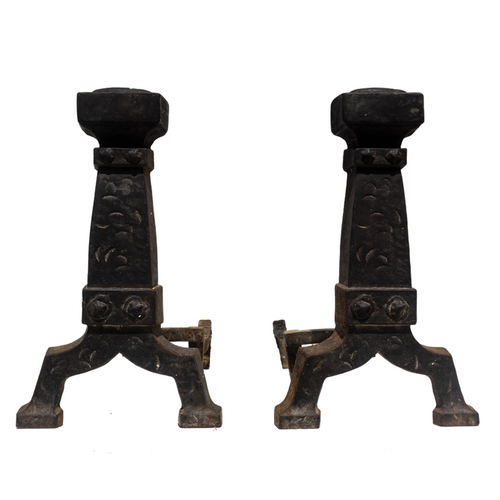 Andirons (Pair) - #A122