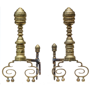 Andirons (Pair) - #A123