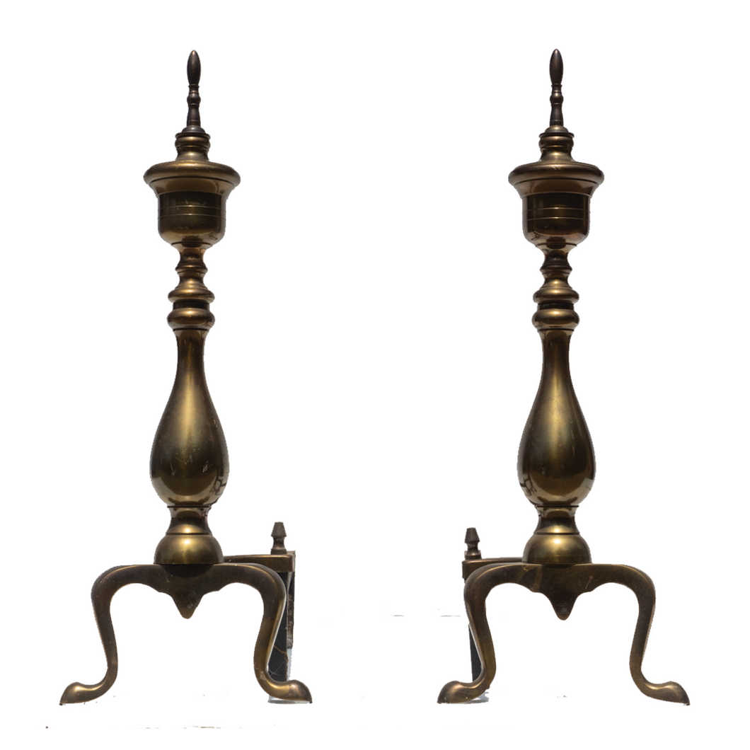 Andirons (Pair) - #A124