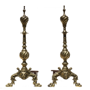 Andirons (Pair) - #A125