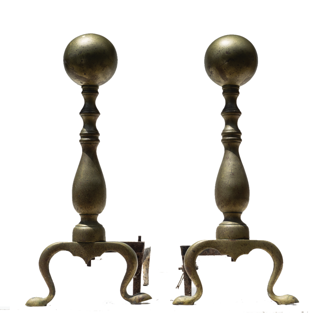 Andirons (Pair) - #A126
