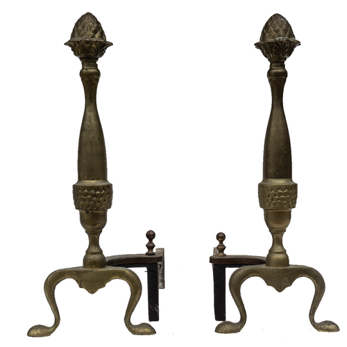 Andirons (Pair) - #A127