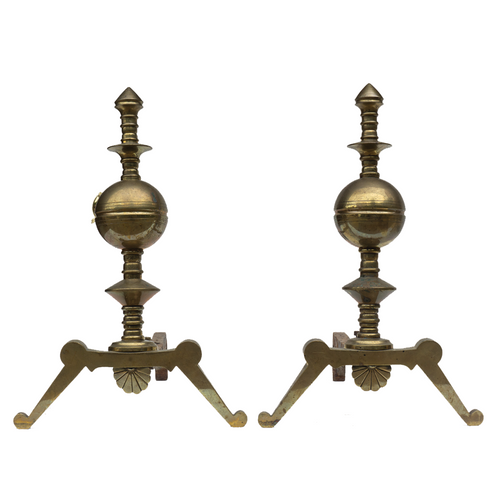 Andirons (Pair) - #A128