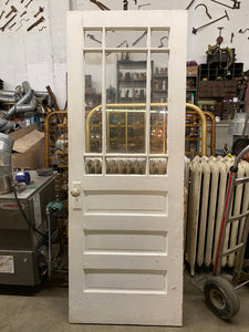 Antique Half-Glass Front or Back Door