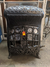 Load image into Gallery viewer, Antique Cast Iron and Mica Gas Stove