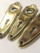Load image into Gallery viewer, Vintage Brass Door Plates 2 (PAIR)