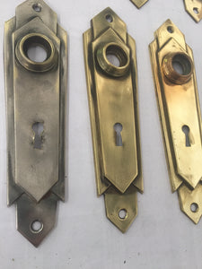 Vintage Brass Backplates (Door Escutcheon)