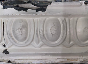 Egg and Dart Tin Ceiling Moulding Pieces