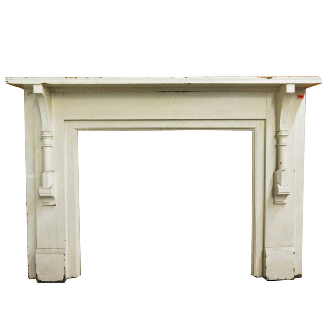 White Plain Mantel - M4-2019