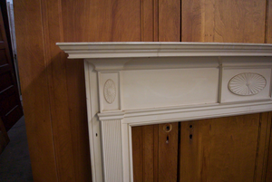 White Classic Mantle