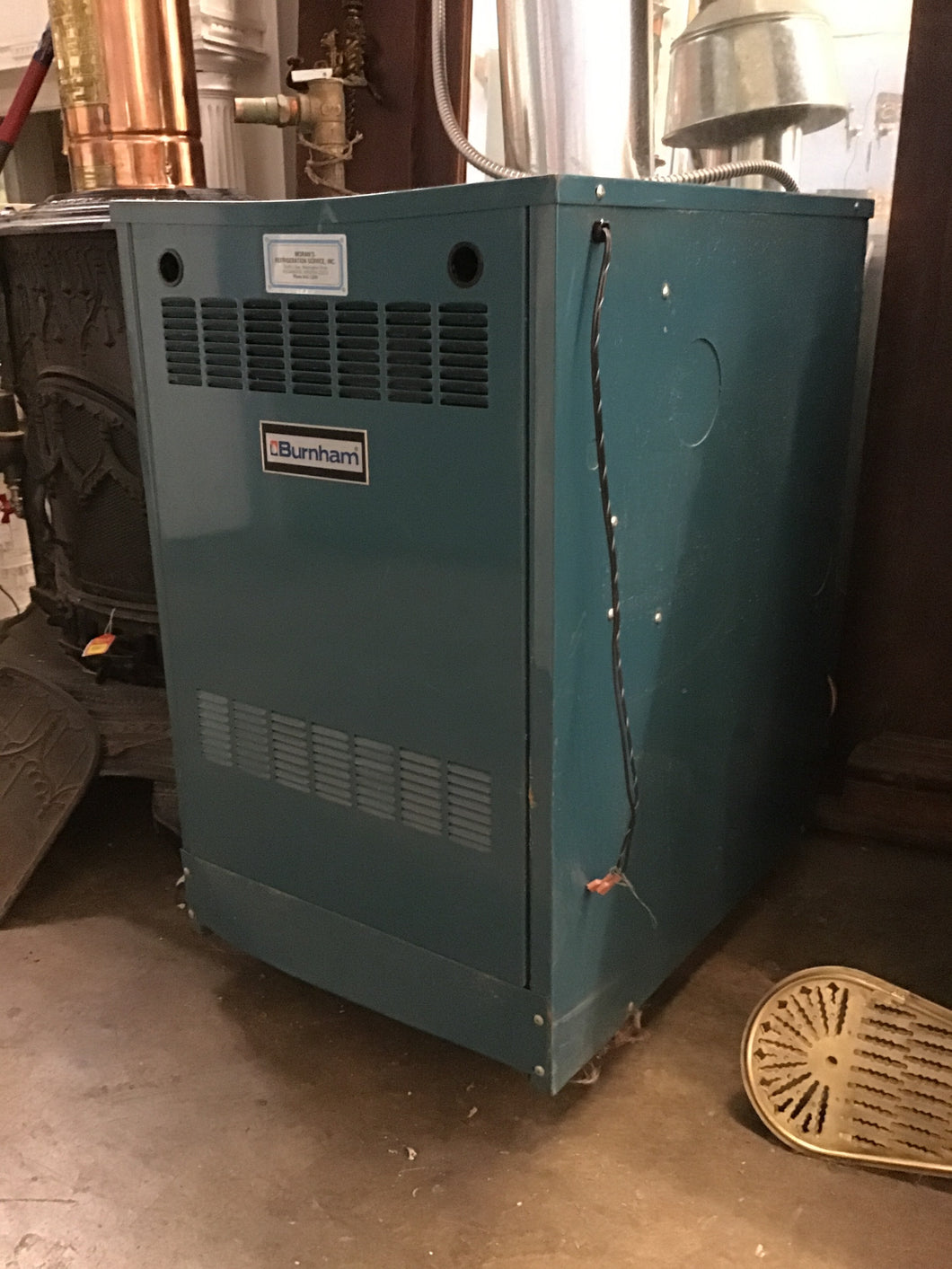 Burnham Series 2 Gas Boiler -130,000 btus