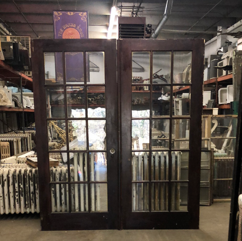 French doors, non painted