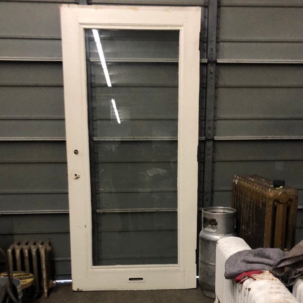 Full glass panel exterior door 2