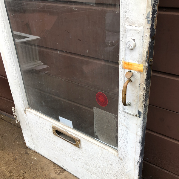 Full glass panel exterior door 3