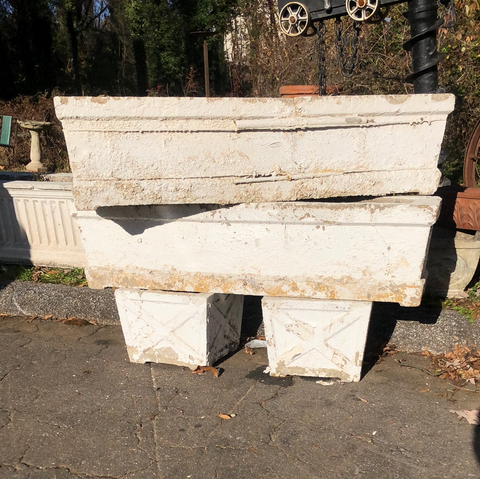 Concrete planters (4 piece set) ENTIRE SET