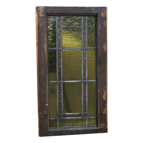 Vintage Stained Window Panel