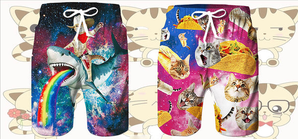 Best Cat Swimming Trunks at Forest Coral