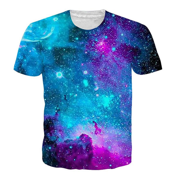 Graphic Galaxy Space T Shirt