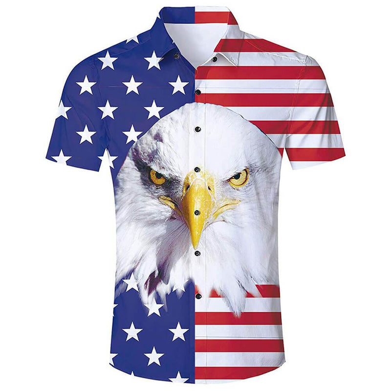 American Flag Eagle Shirt