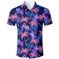 Button Down Hawaiian Shirt
