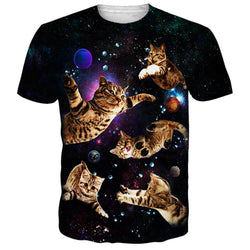 Flying Cats T Shirt