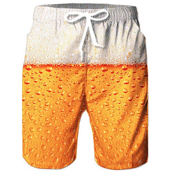 Beer Swim Trunks
