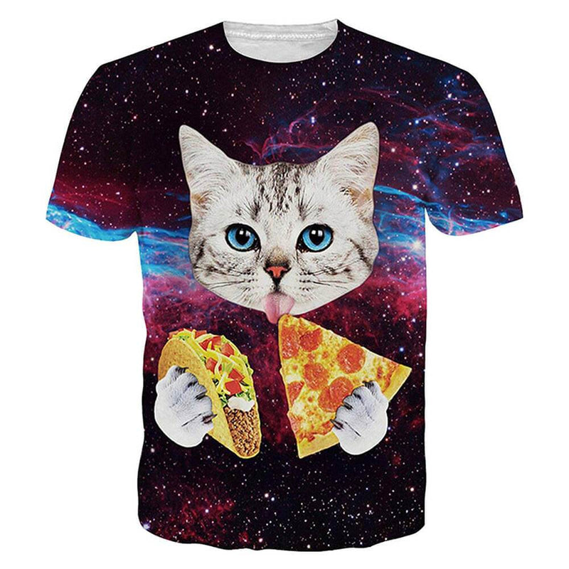 Taco Pizza Cat T Shirt