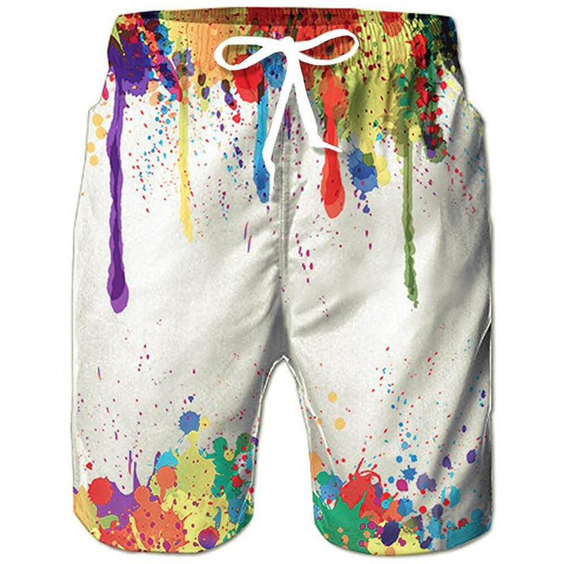 90's Clothes Beach Board Shorts
