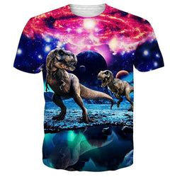 Dinosaur Galaxy T Shirt