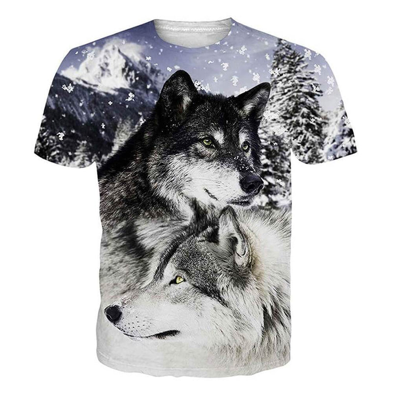 Couple Wolf T Shirt