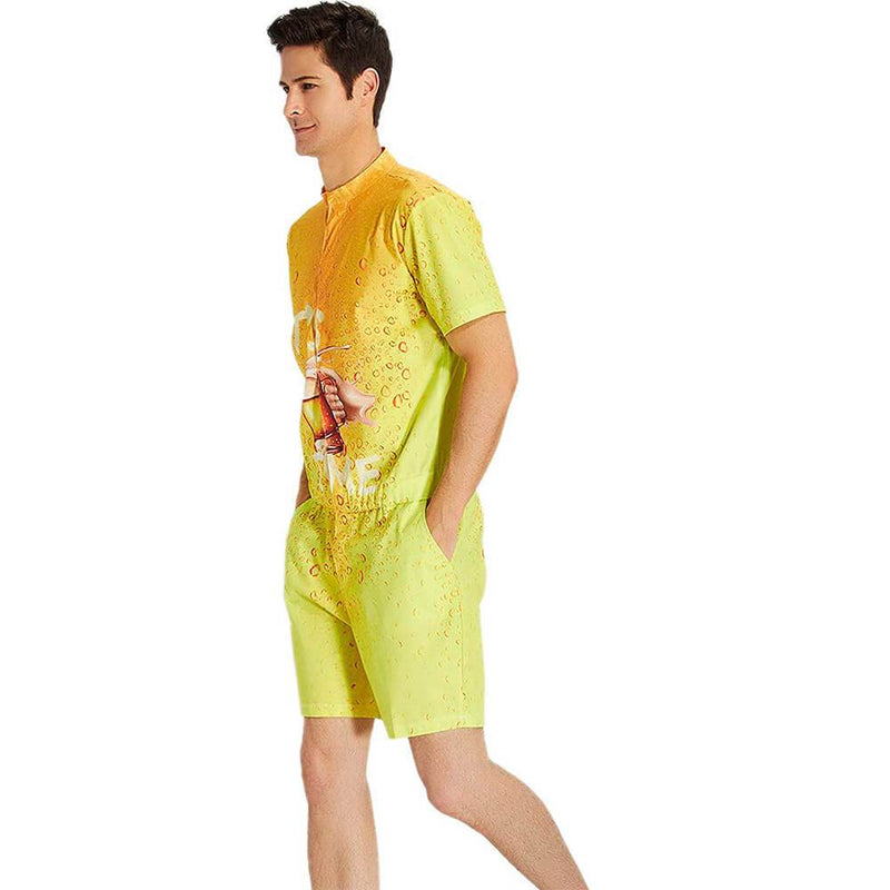It's Beer Time One Piece Male Romper
