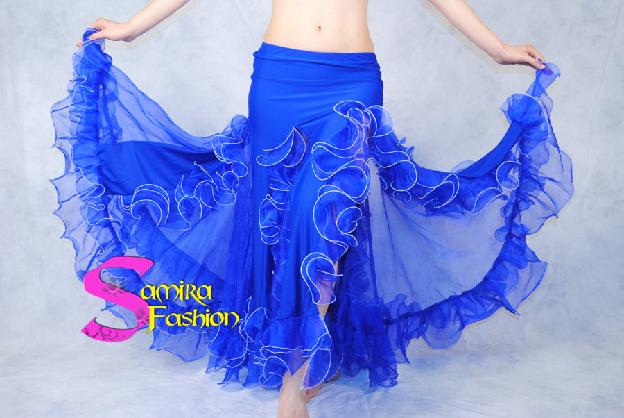 Gonna Belly Dance Volants Fluo - Bluette