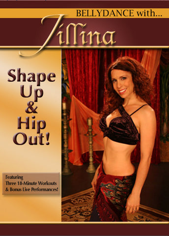 Dvd Belly Dance with Jillina - Shape Up & Hip Out!