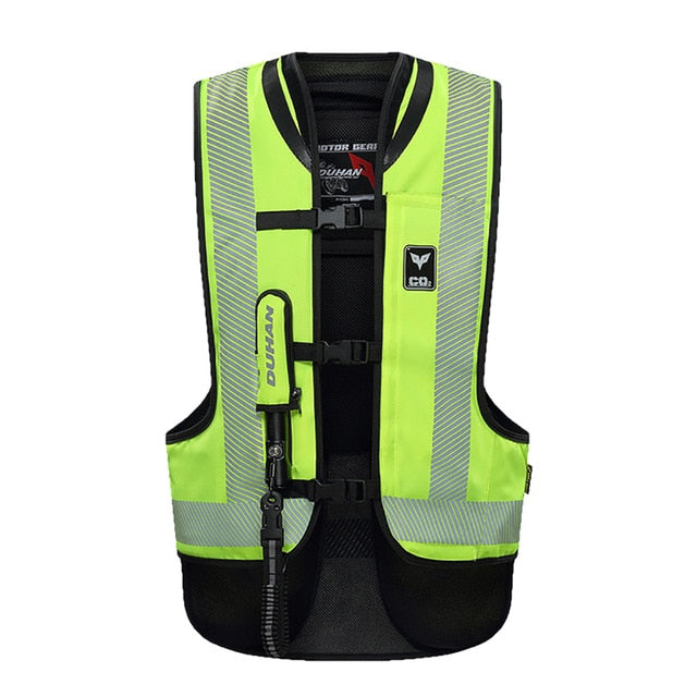 DUHAN High-Vis Motorcycle Air-bag Vest
