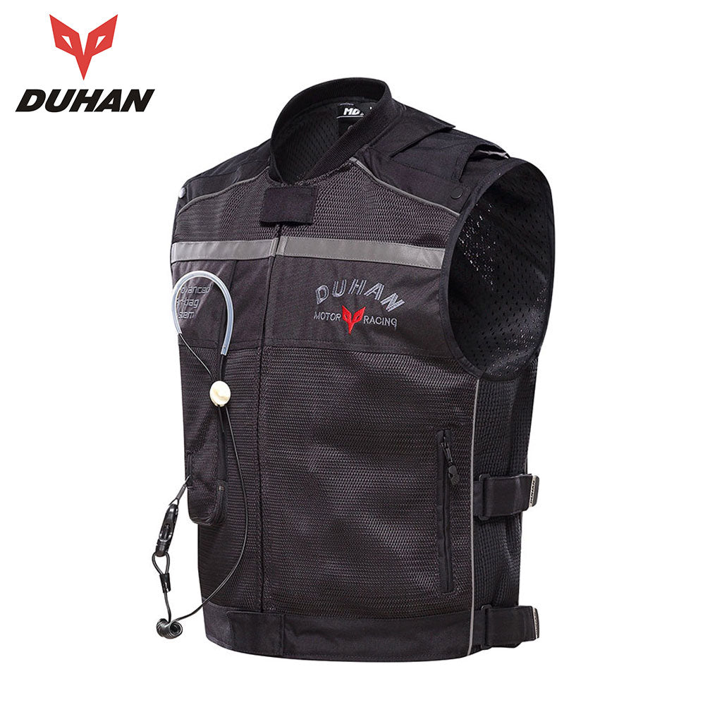 DUHAN Racing Spec Motorcycle Vest With Advanced Air-Bag System