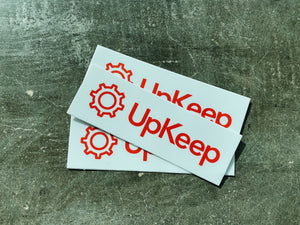 UpKeep Sticker