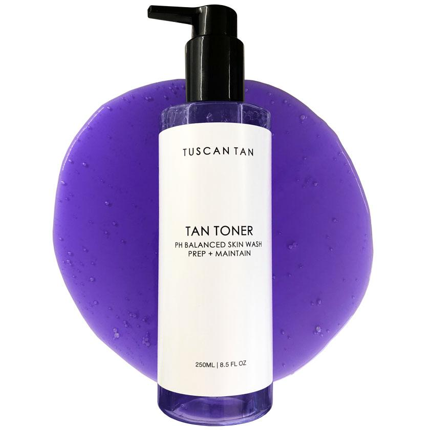 Tan Toner Skin Wash