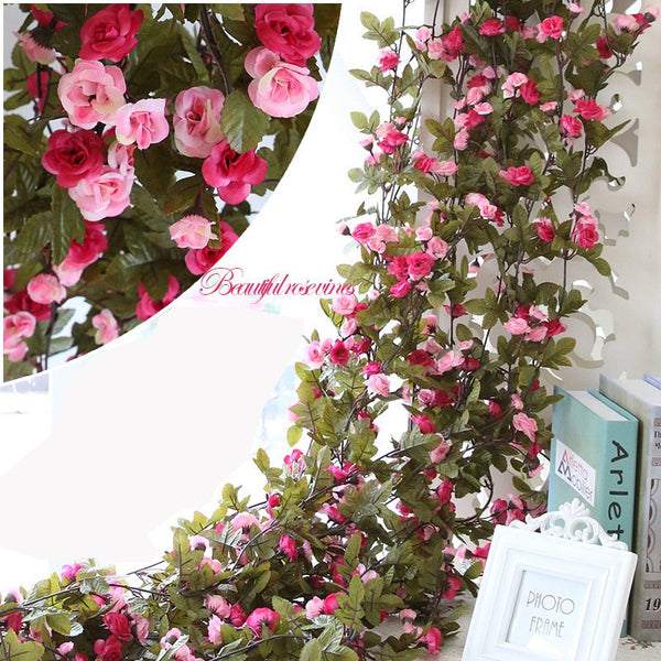 Silk Artificial Fake Flowers Plants Party Wedding Door Stairs Home Decor