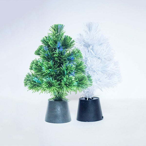 New Mini USB Optical Fiber Christmas Tree For Festival Xmas Party Home Decoration Gifts