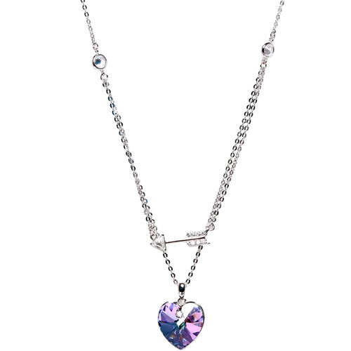 Necklace: The Heart Collection - 4 Colors