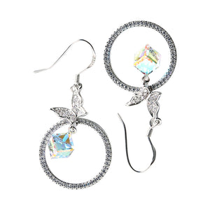 Earring: The Butterfly & Ring