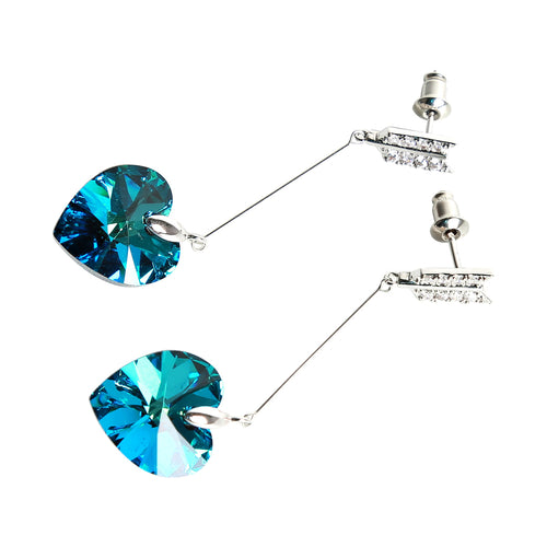 Earring: The Heart Collection - 4 Colors