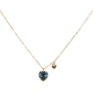 Necklace: The Twin Hearts - Gold/Silver