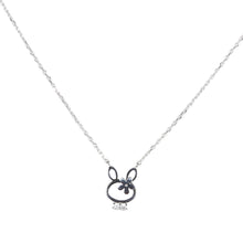 Necklace: The Bunny Gold/Silver